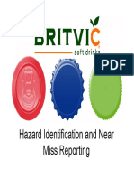 Hazard Identification and Near Miss Reporting