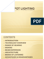 51550437 Audio Spot Lightings