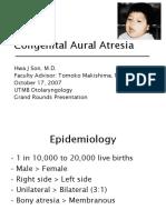 Aural Atresia Slides 071017 3