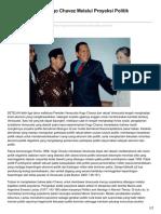 Jalan Sosialisme Hugo Chavez Melalui Proyeksi Politik Populisme