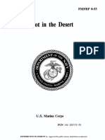 FMFRP 0-53 Afoot in the Desert 1956