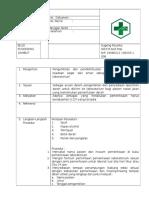 SOP Pemeriksaan Laboratorium akreditasi