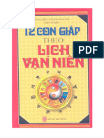 12 Con Giáp Theo Lịch Vạn Niên (NXB Thời Đại 2009) - Đàm Liên, 336 Trang.pdf