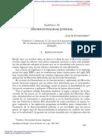 Discrecionalidad judicial - Juan B. Etcheverry
