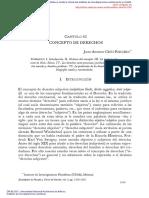 Concepto de Derechos - Juan Antonio Cruz Parcero