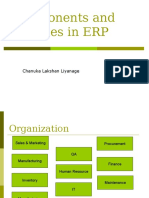 Components and Modules in ERP