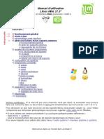 Manuel d'Utilisation Linux Mint 17 17.1 17.2 17.3