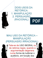 Síntese_Usos_Retórica