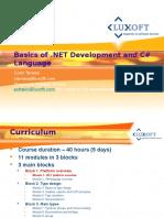 MSC-001. Block1. Module01. Overview of .NET Platform_EN