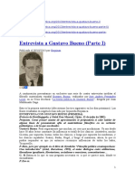 Entrevista a G. Bueno Sobre Teoría Política - 3 Partes