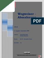 eBook Wegweiser Abmahnung