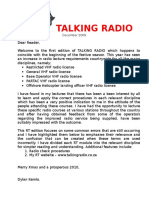 1 Talkingradio Newsletter December 2009