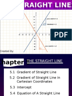 Chapter 5 the Straight Line