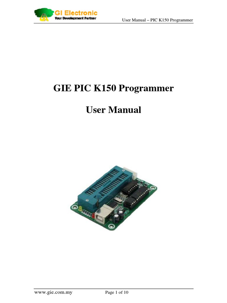 PIC-K150(1) pdf | Pic Microcontroller | Device Driver