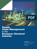 Supply Chain Management European Chemicals Industry