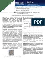 Extractos vegetales de Maytenus phyllantoides contra el crecimiento de bacterias