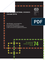 Lists of Occupational Diseases 2010