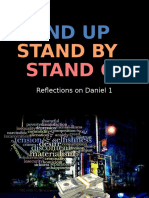 Stand Up, Stand by, Stand Out - Daniel 1