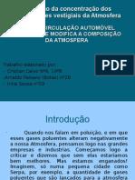 Poluição Automóvel power point