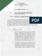 OCA Circular No. 91 2007