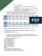 Verifica234 Informatica 2B SC for e Vettori