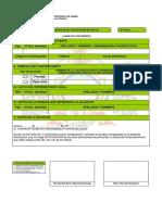 Declaracion Actualizacion Datos Formato 100
