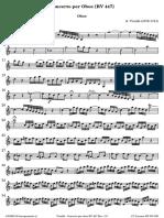 Vivaldi Concerto Per Oboe RV 447 Oboe