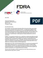 Dredge Letter