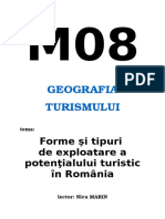 Potentialul Turistic Natural Si Antropic Al RomanieiFINAL (1)