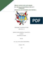 Informe Sensor de Proximidad Capacitivo