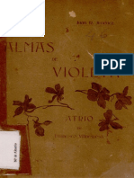 Juan Ramón Jiménez Almas de Violeta