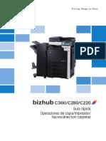 minolta Bizhub c360 c280 c220