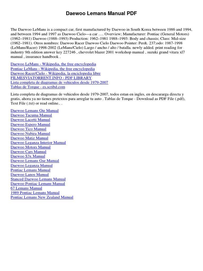 Daewoo Car Manuals Wiring Diagrams Pdf Diagram Libraries Circuit Wikipedia The Free Encyclopedia