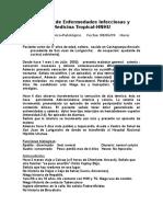 1er Caso Clinico de Infectología