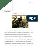 wildlife volunteer essay