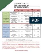 12 Mid Course Exams 2016 (2)
