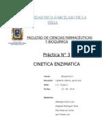 CINETICA ENZIMATICA (BIOQUIMICA)