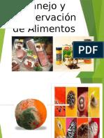 Manejo y Conservacion de Alimentos