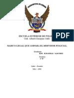 Marco Legal Del Policia (PSicologia Aplicada a La Funcion Policial)