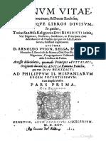 Malachy in Latin LignumVitae-StMalachy