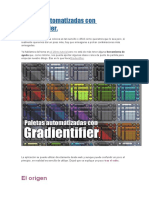 Paletas Automatizadas Con Gradientifier