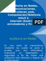Auditoria en Redes, Comunicaciones, Servidores Web