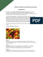 Propiedades Nutritivas y Curativas de Las Frutas