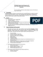 Business Plan Project Guidelines 2015 Sem 01