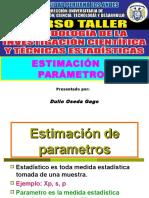SESION N° 09 - ESTIMACION DE PARAMETROS