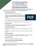 Hoisting in House Training Providers Guidelines for Registration 1