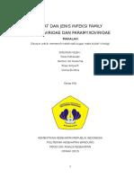 Sifat Dan Jenis Infeksi Famili Orthoviridae Dan Paramyxoviridae