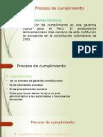 Proceso de Cumplimiento Expo