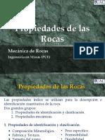 1.Propiedades de La Roca