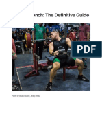 Greg Nuckols - How to Bench the Definitive Guide
